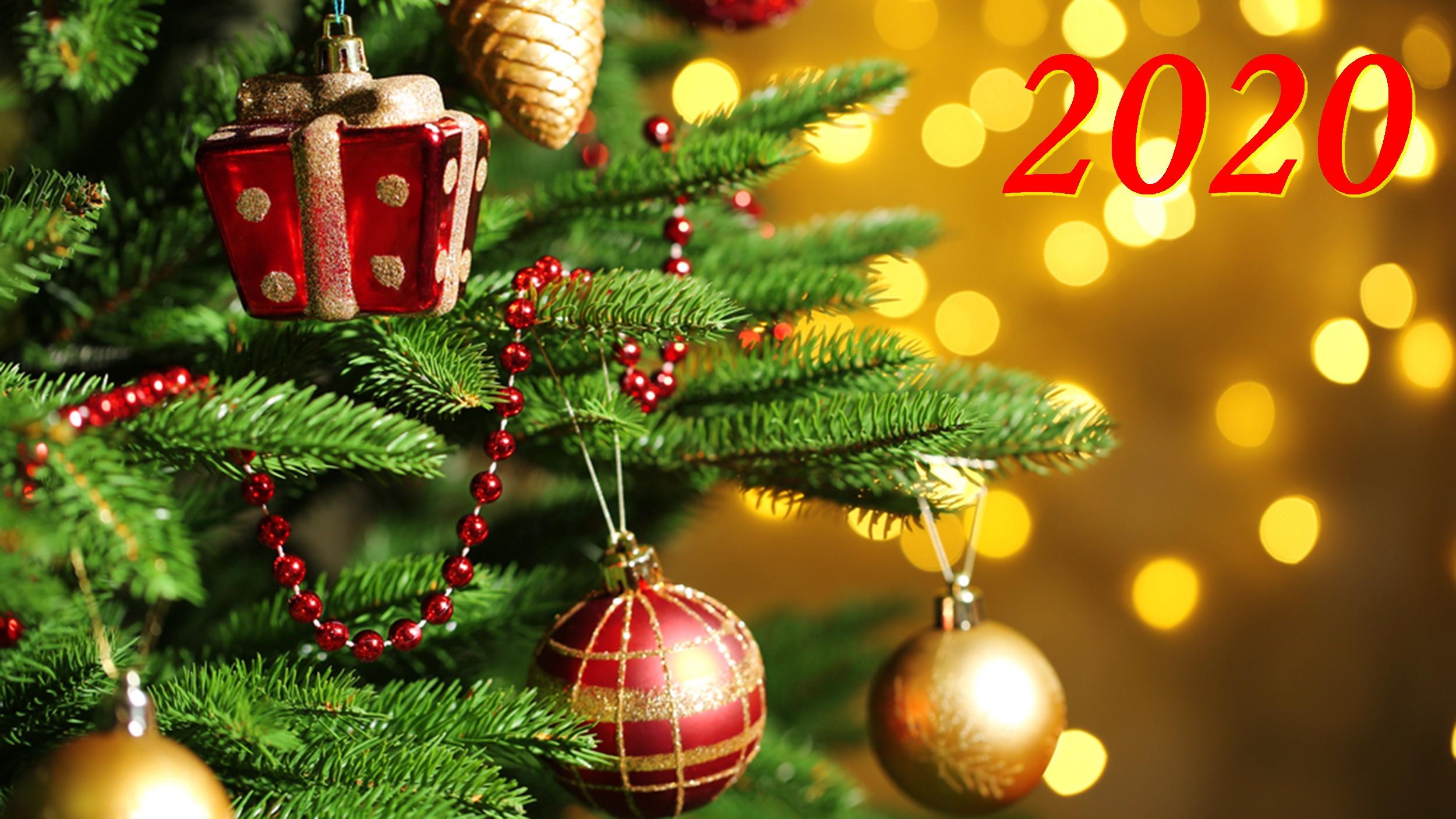 Привітання з Новим 2020 роком!