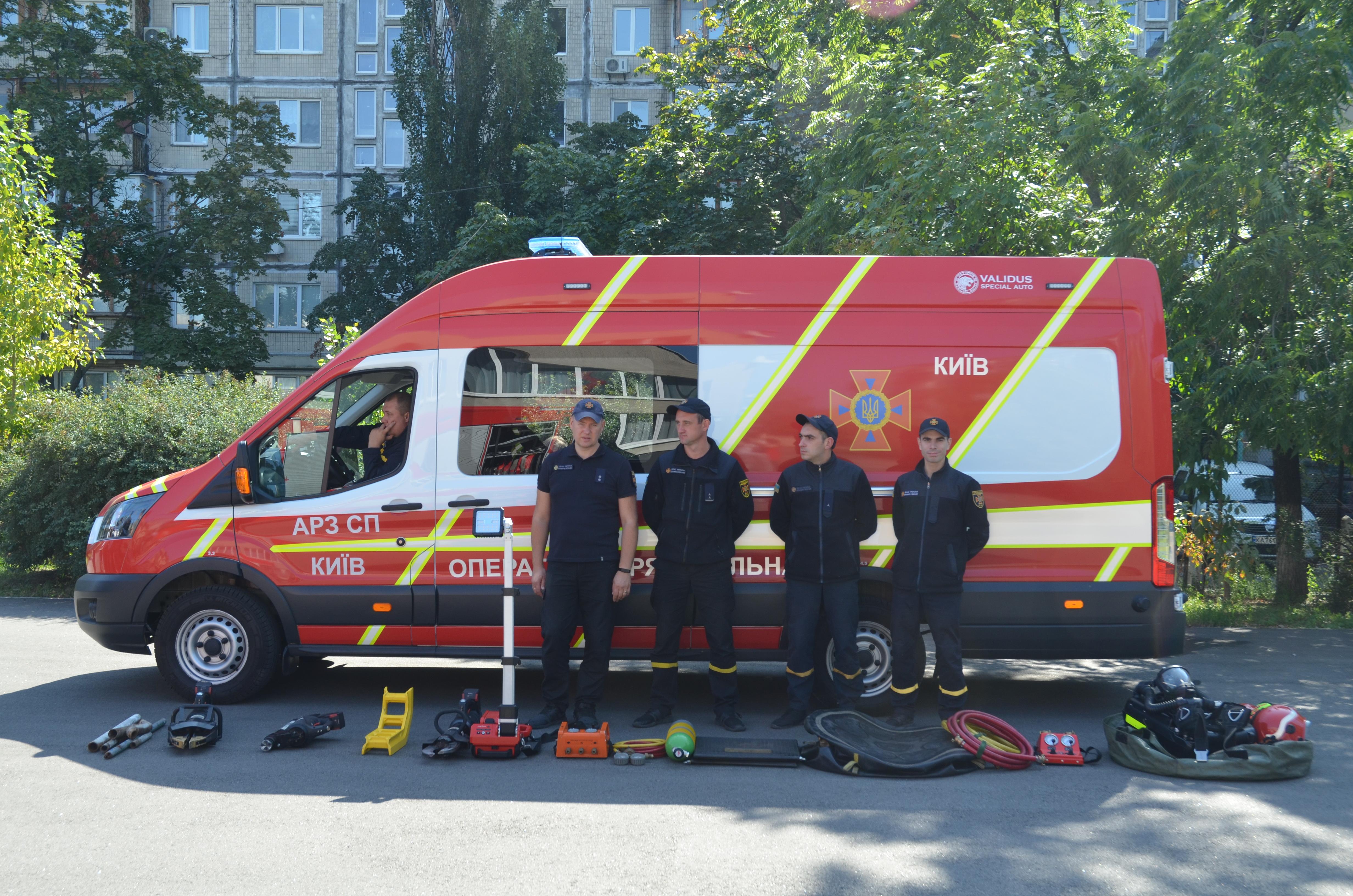 Державній пожежній охороні України виповнилося 100 років